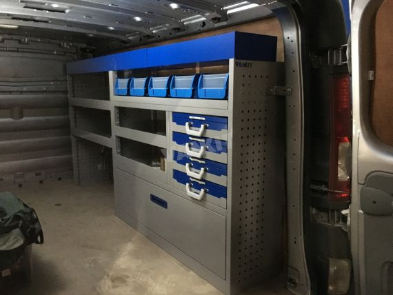 Van Racking Systems Vankit Uk Ltd Cambridge