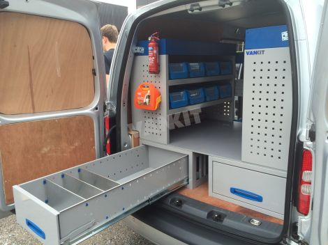 New Vw Caddy Maxi Van Racking Vankit Direct