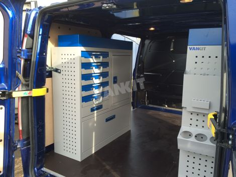 New Ford Transit Custom L1h1 Electrician Van Racking
