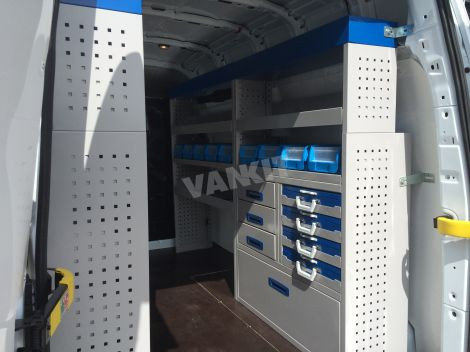 New Ford Transit Custom L2h2 Van Racking System Van