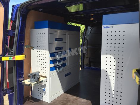 Transit Custom L1 Racking System Van Racking Vankit Direct