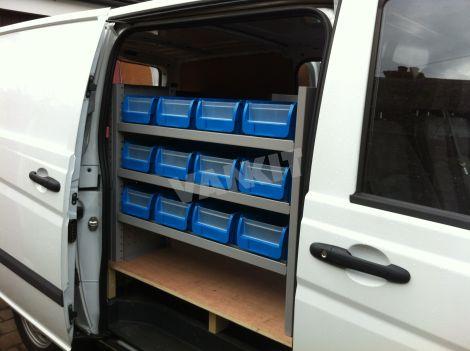 New Mercedes Vito Lwb Van Racking Van Racking Vankit