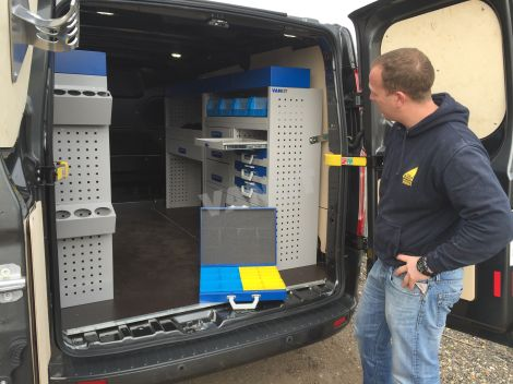 New Ford Transit Custom L1h1 Plumbers Van Racking