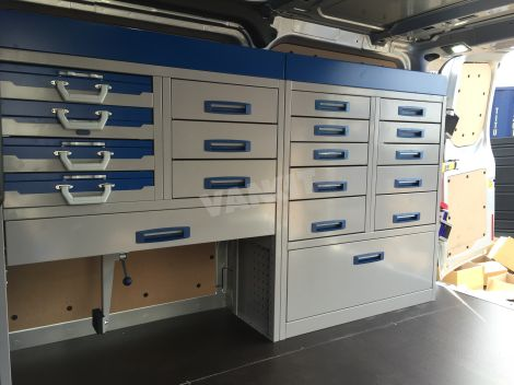 New Ford Transit Custom L1h1 Van Racking Vankit Direct