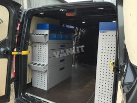 New Ford Transit Custom L1h1 Plumbers Van Racking