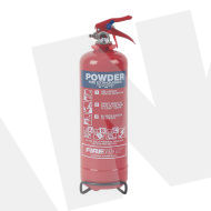 1.0kg Dry Powder Fire Extinguisher,