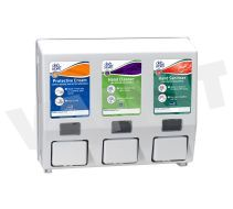 DEB Triple Hand Care Safety Cradle Dispenser