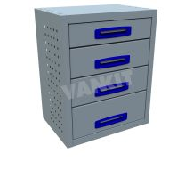 4 Drawer (0.5m Drawer Unit)
