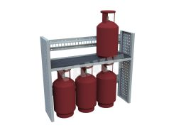 Gas Bottle Holder (1.00m)