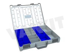 Plastic Assortment Case with Clear Lid