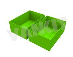 Plastic Compartment (Lime)