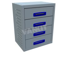 4 Drawer (0.5 Drawer Unit)